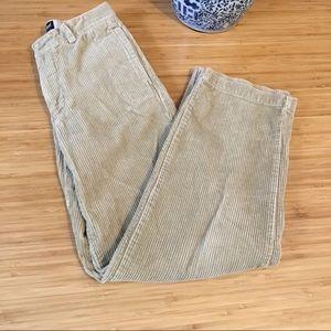 GAP Kids Corduroy Khaki Pants Size 12